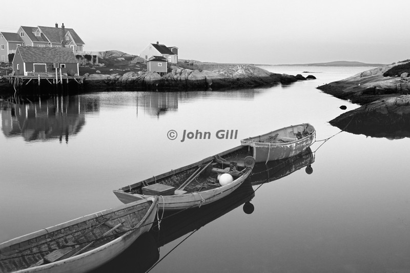 Floating On Air - Peggy's Cove, NS