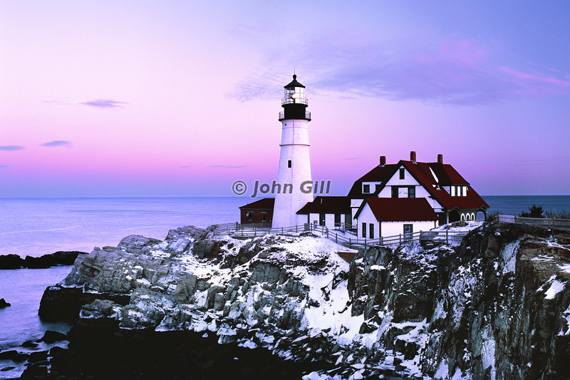 Portland Head Lighthouse, Cape Elizabeth, Maind