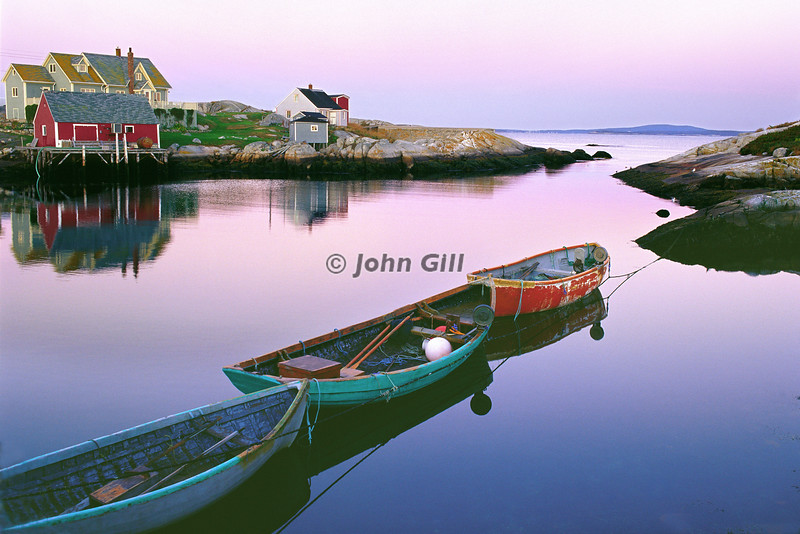Floating On Air, Peggy's Cove, Nova Scotia