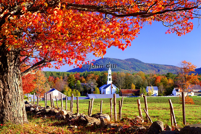 Tamworth, NH Autumn