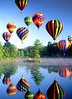 Hot Air Balloons, Pittsfield, NH