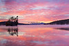Meredith Bay Dawn Over Gunstock Mt.