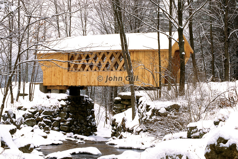 Tannery Hill Covered Bridge, Gilford