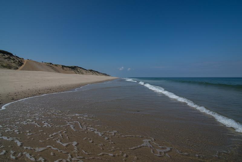 Calm seas and sand