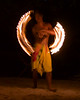 Fire dance at Le Ficus