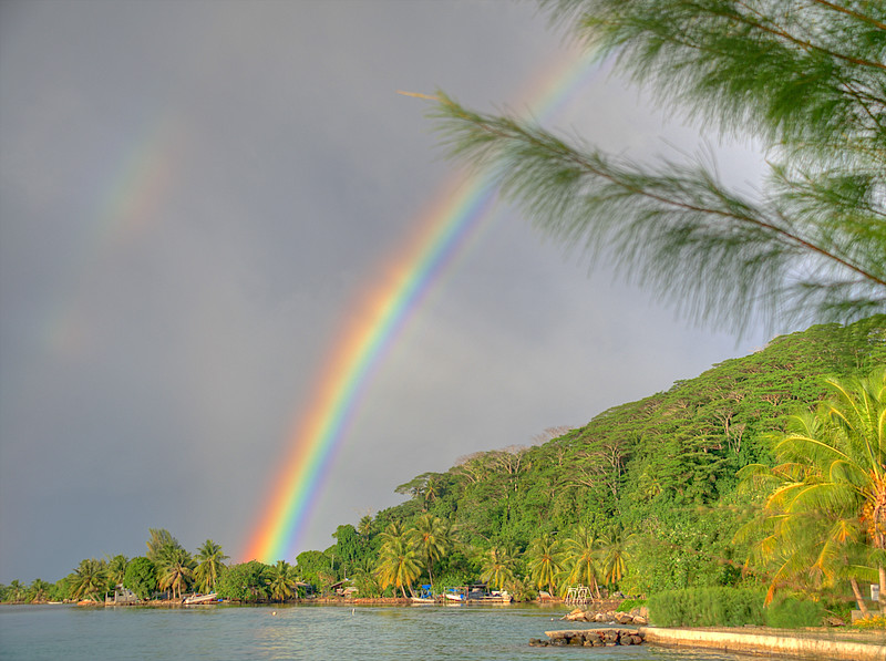 This was our third sailing adventure with Tradewinds that began with a rainbow at the embarkation point.  How cool is that?!