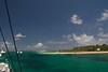 Arriving at îles de la Petite Terre