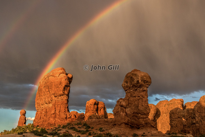 Rainbow at Arches N.P.