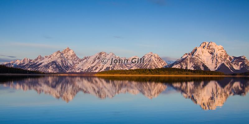 Teton Reflection # 6080