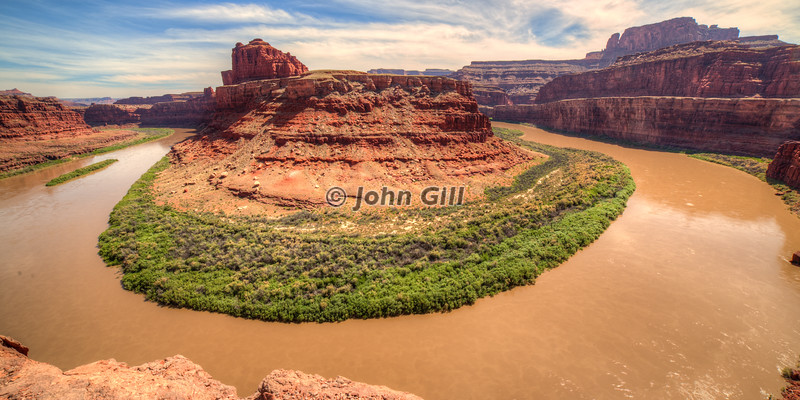 Gooseneck of the Colorado Near Moab UT