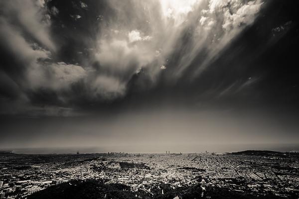 Over Barcelona