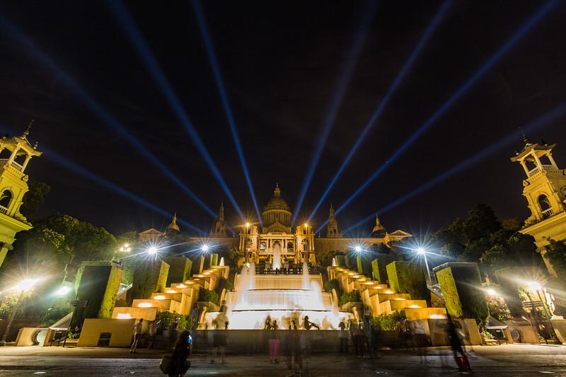 Barcelona Light Show