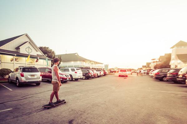Parking Lot Surfer