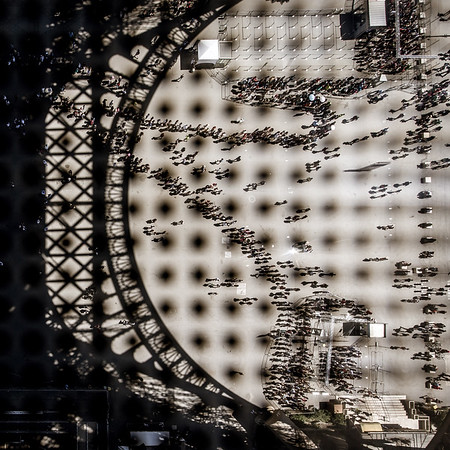 People Ants at Le Eiffel