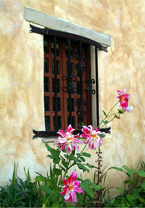 Carmel Mission Window Carmel, California