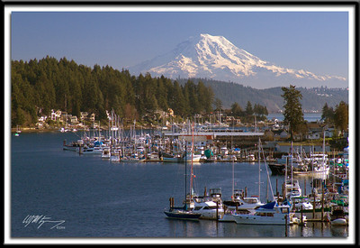 Gig Harbor and Mt. Rainier