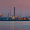 Fawley Refinery at dusk, Hampshire