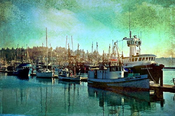 Fishing Boats in Newport, Oregon