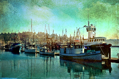 Fishing Boats in Newport, Oregon