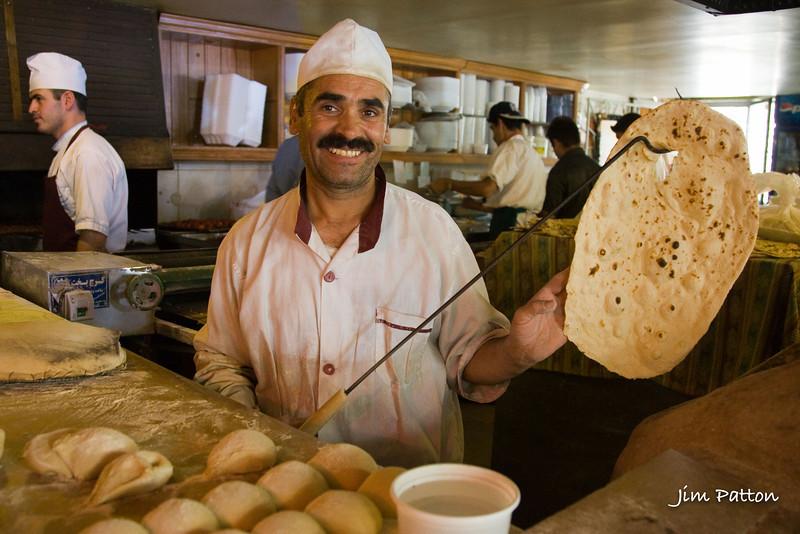 Baking Nan-e Lavash