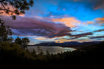Sunrise Over Tahoe
