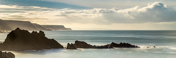 Looking South from Hartland Quay