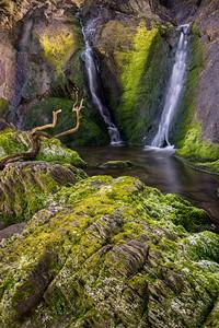 Lee Bay Waterfall