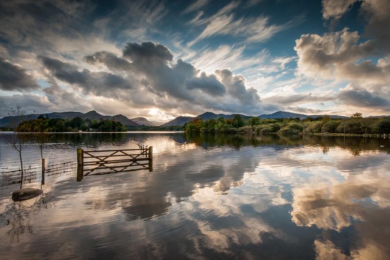 Derwentwater reflections