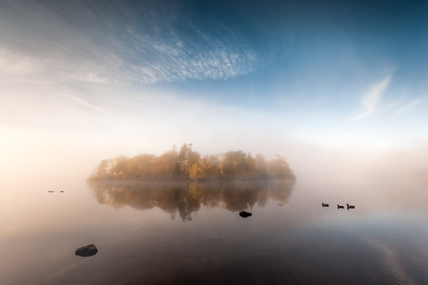 Morning Mist, Derwent Island