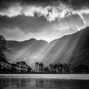 Buttermere Sunbeams