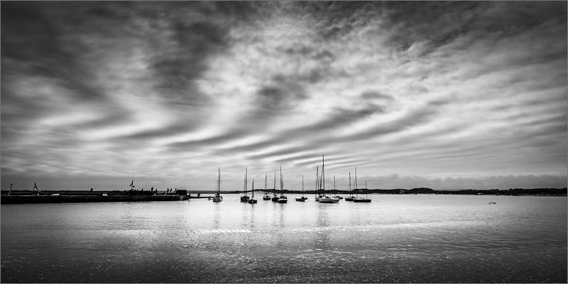 Beadnell Bay cloudscape