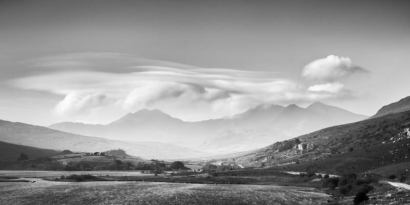 Cloud over Snowdon