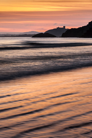 Criccieth Castle Sunset