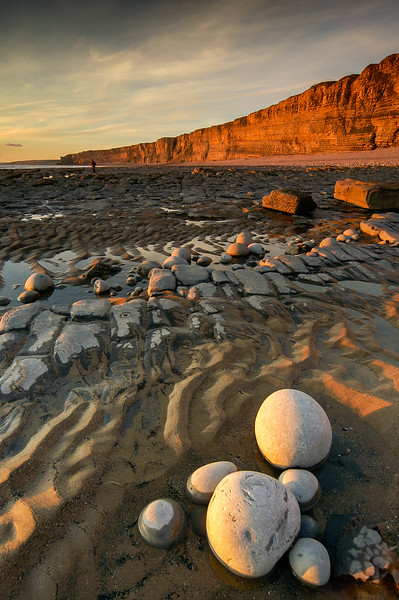 Evening Light, Nash Point