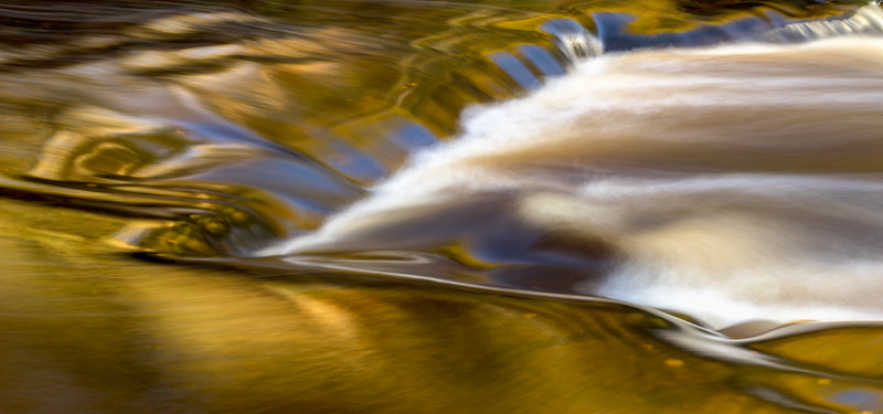 River Swale in the Autumn
