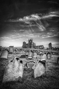 Whitby Abbey from the graveyard