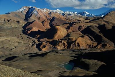 view from a tibetan pass