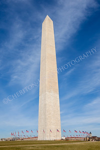 Washington Monument in National Mall DC