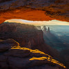 Mesa Arch at Sunrise - Canyonlands National Park, UT