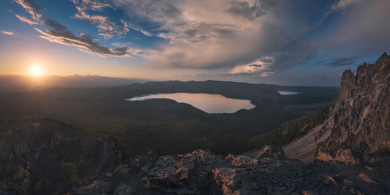 Paulina Peak, OR.