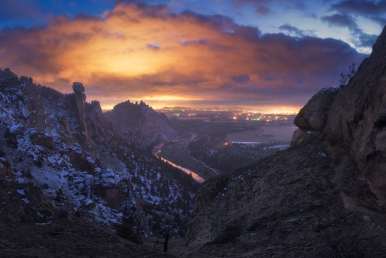 Smith Rock, OR.