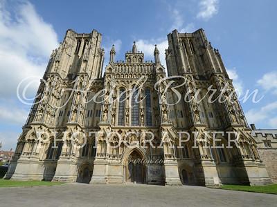 Wells Cathedral, Wells, Somerset by Heidi Burton
