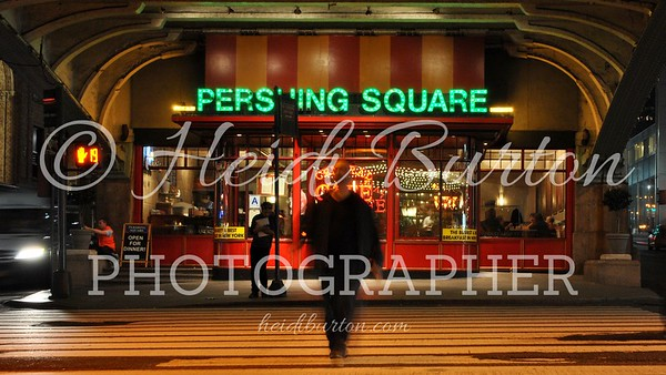 Pershing Square Cafe, by Grand Central Station,  New York by Heidi Burton, Weston-super-Mare Photographer