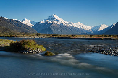 Aoraki / Mount Cook. New Zealand