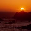 Sunset California Coast - Sonoma Coast State Park, California