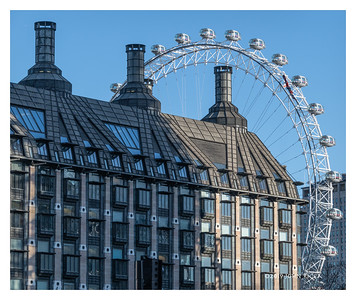 Building And London Eye