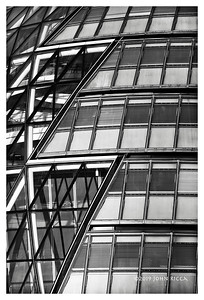 London Highrise Buildings Abstract 6