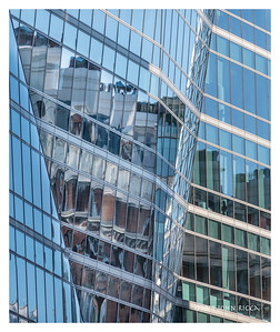 London Highrise Buildings Abstract 4