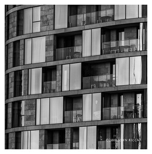 London Highrise Buildings Abstract 7