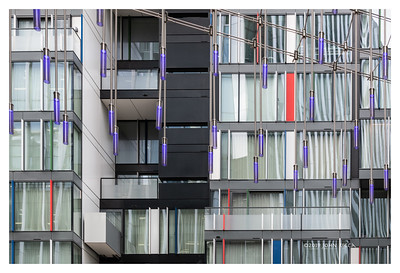 London Highrise Buildings Abstract 8